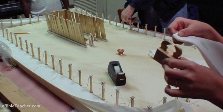 Wooden Tabernacle Model  Tabernacle Model For Kids