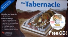 inch Tabernacle Model kit  Tabernacle Model For Kids